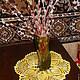 """Дизайн интерьеров ручной работы. Ярмарка Мастеров - ручная работа. Купить Салфетка """" Солнышко"""". Handmade. Лимонный, ажурная салфетка"""