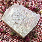 """Косметика ручной работы. Ярмарка Мастеров - ручная работа Натуральное мыло """"Шелковая роза"""". Handmade."""