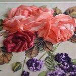 RINA ribbon - вышивка лентами - Ярмарка Мастеров - ручная работа, handmade