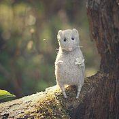 """Куклы и игрушки handmade. Livemaster - original item """"Forest mouse"""".. Handmade."""