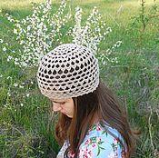 Аксессуары handmade. Livemaster - original item Summer hat №4. Handmade.