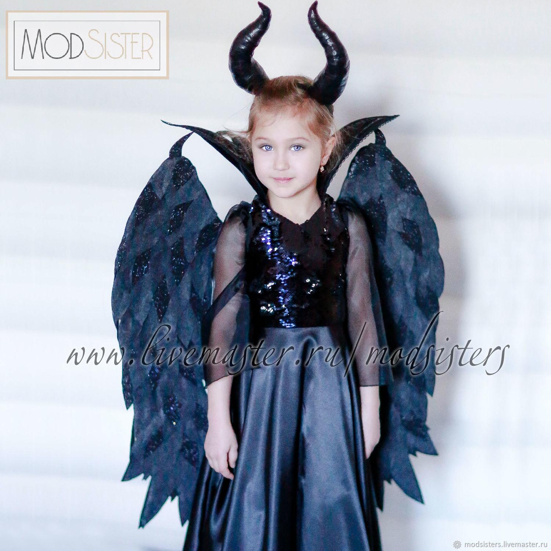 Costume 'Maleficent' Art.Five hundred thirteen, Carnival costumes for children, Nizhny Novgorod,  Фото №1