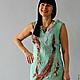 """Платья ручной работы. Ярмарка Мастеров - ручная работа. Купить Платье """"Мint color"""".. Handmade. Разноцветный, красивое платье"""