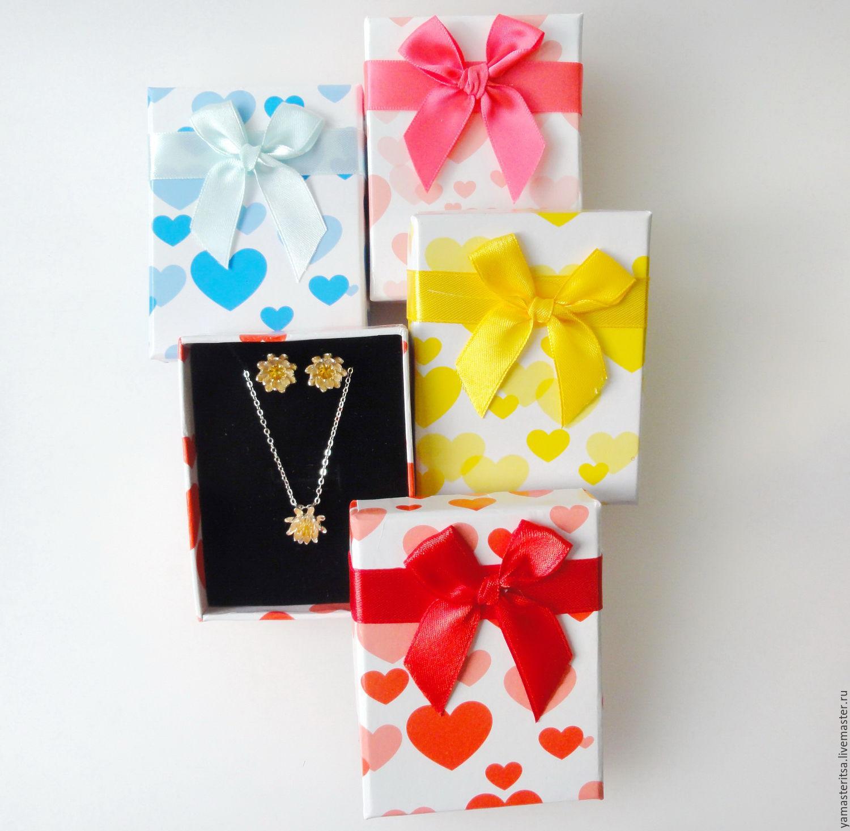 Картон коробочка в подарок 14