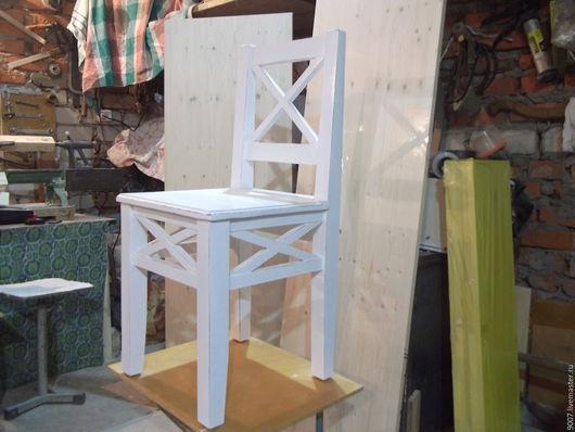 Мебель ручной работы. Ярмарка Мастеров - ручная работа. Купить Стул в стиле прованс. Handmade. Белый, стулья, массив дерева