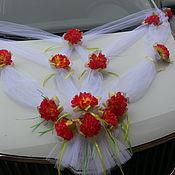 Свадебный салон ручной работы. Ярмарка Мастеров - ручная работа Украшение на свадебную машину. Handmade.