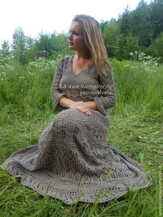 Платья ручной работы. Ярмарка Мастеров - ручная работа. Купить Платье вязаное Forest. Handmade. Платье вязаное, платье трикотажное