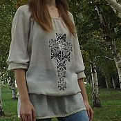 Одежда handmade. Livemaster - original item Women`s embroidered blouse Bohemian ЖР3-81. Handmade.