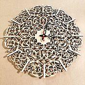 Для дома и интерьера ручной работы. Ярмарка Мастеров - ручная работа Часы Восточный узор. Handmade.