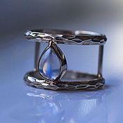 Украшения handmade. Livemaster - original item Moonlight ring with adular. Handmade.
