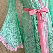 Одежда ручной работы. Ярмарка Мастеров - ручная работа Пеньюар Любовь весны. Handmade.