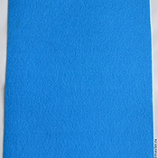 Материалы для творчества handmade. Livemaster - original item the soft felt sheet 1 mm 20 x 30 color blue yf683. Handmade.