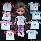Одежда для кукол ручной работы. Ярмарка Мастеров - ручная работа Разная одежда для 16 см бжд тиник Lati Pukifee Irrealdoll. Handmade.