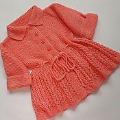 Одежда ручной работы. Ярмарка Мастеров - ручная работа Кардиганчик для малышки. Handmade.
