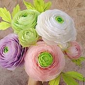 Подарки к праздникам ручной работы. Ярмарка Мастеров - ручная работа Букет цветов из гофрированной бумаги. Handmade.