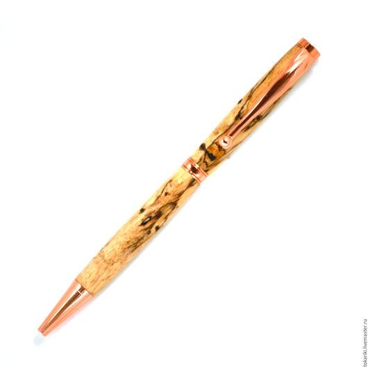 Карандаши, ручки ручной работы. Ярмарка Мастеров - ручная работа. Купить Авторучка Слим тамаринд роз. золото. Handmade. Авторучка