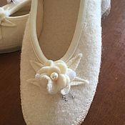 Винтажная обувь ручной работы. Ярмарка Мастеров - ручная работа Винтаж: тапки giesswein ручной работы. Handmade.