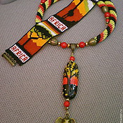 """Украшения ручной работы. Ярмарка Мастеров - ручная работа Комплект """"Африка"""". Handmade."""