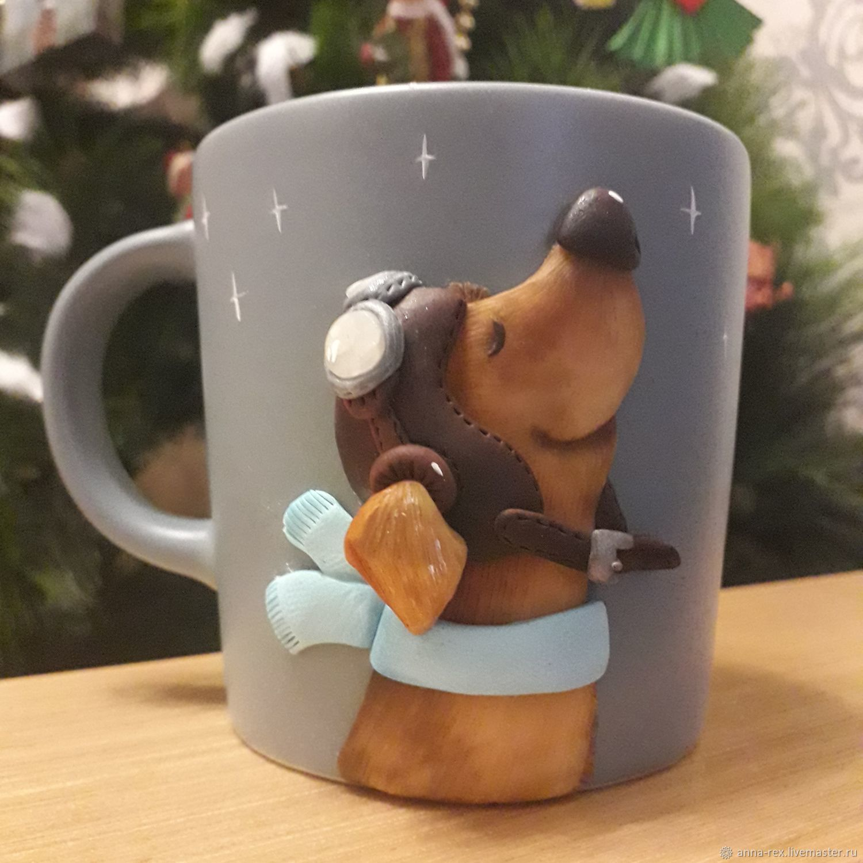 Mug with decor, Mugs, Moscow,  Фото №1