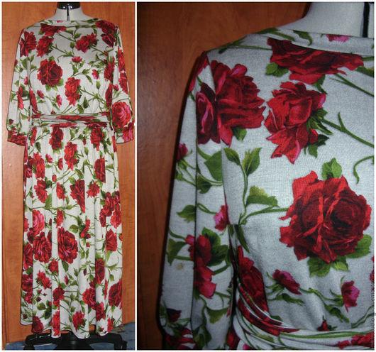 """Платья ручной работы. Ярмарка Мастеров - ручная работа. Купить Платье """"Роза"""". Handmade. Серый, Платье нарядное, женственное платье"""