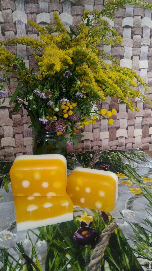 Мыло ручной работы. Ярмарка Мастеров - ручная работа. Купить Молоко и мед.. Handmade. Молоко и мед, мыло ручной работы