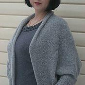 Одежда handmade. Livemaster - original item Cocoon cardigan Cape Bolero shawl one size. Handmade.