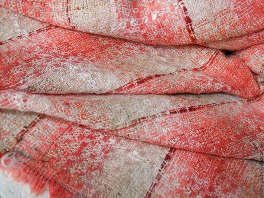 Шитье ручной работы. Ярмарка Мастеров - ручная работа. Купить CHANEL букле плательно -костюмная , Италия. Handmade. Итальянские ткани
