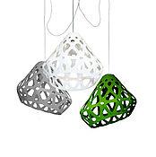 Для дома и интерьера handmade. Livemaster - original item ZAHA trehrozhkovye tricolor LIGHT chandelier 13. Handmade.