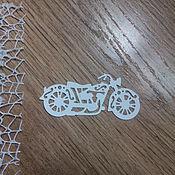 Материалы для творчества handmade. Livemaster - original item !Cutting scrapbooking MOTORCYCLE classics designer cardboard. Handmade.