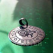 Украшения handmade. Livemaster - original item Capricorn pendant. Handmade.