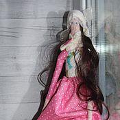 Куклы и игрушки ручной работы. Ярмарка Мастеров - ручная работа Кукла Тильда на коньках. Handmade.