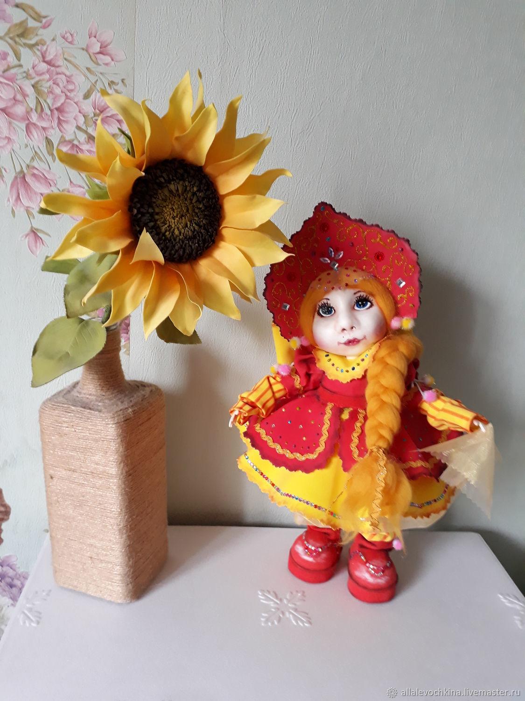 Кукла Дуняша, Народная кукла, Рязань,  Фото №1