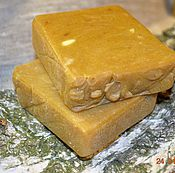 Косметика ручной работы. Ярмарка Мастеров - ручная работа Натуральное мыло с липидами лаванды, масло ши и медом. Handmade.