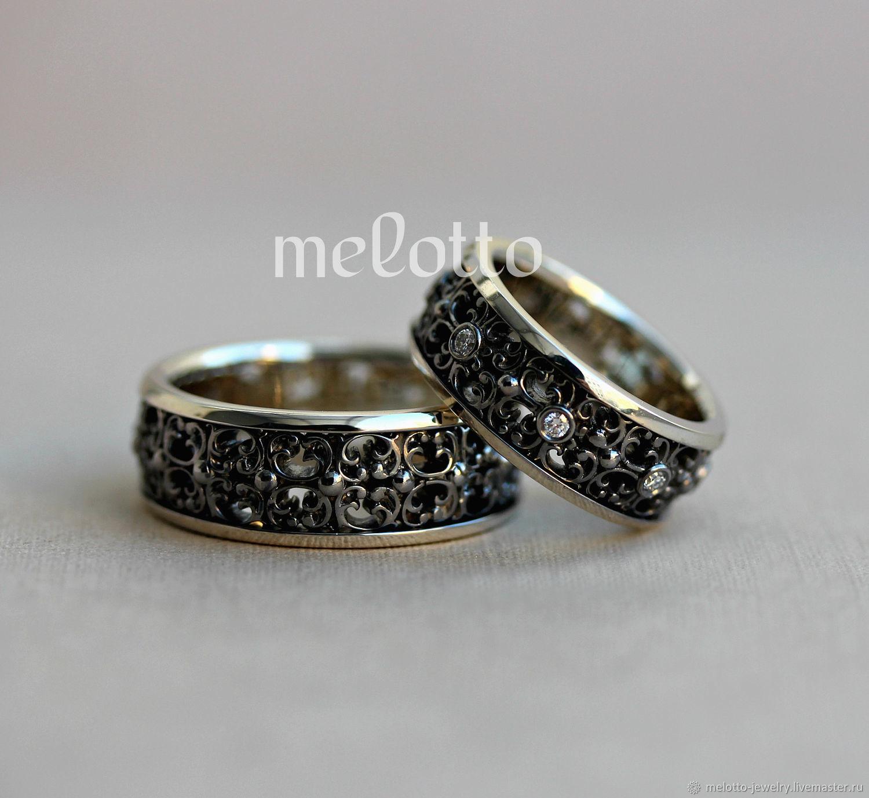 911bca83ea83 Свадебные украшения ручной работы. Ярмарка Мастеров - ручная работа. Купить  Самые красивые обручальные кольца