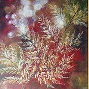 """Картины и панно ручной работы. Ярмарка Мастеров - ручная работа картина Дыхание осени"""". Handmade."""