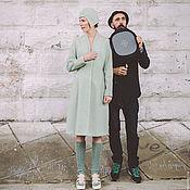 Одежда ручной работы. Ярмарка Мастеров - ручная работа Дизайнерское демисезонное пальто. Handmade.