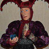 Куклы и игрушки ручной работы. Ярмарка Мастеров - ручная работа Джокер-шут, приносящий удачу. Handmade.
