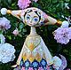 Цветочная фея. Волшебница.Кукла из дерева.Лия. Куклы и пупсы. DryadStyle. Интернет-магазин Ярмарка Мастеров.  Фото №2