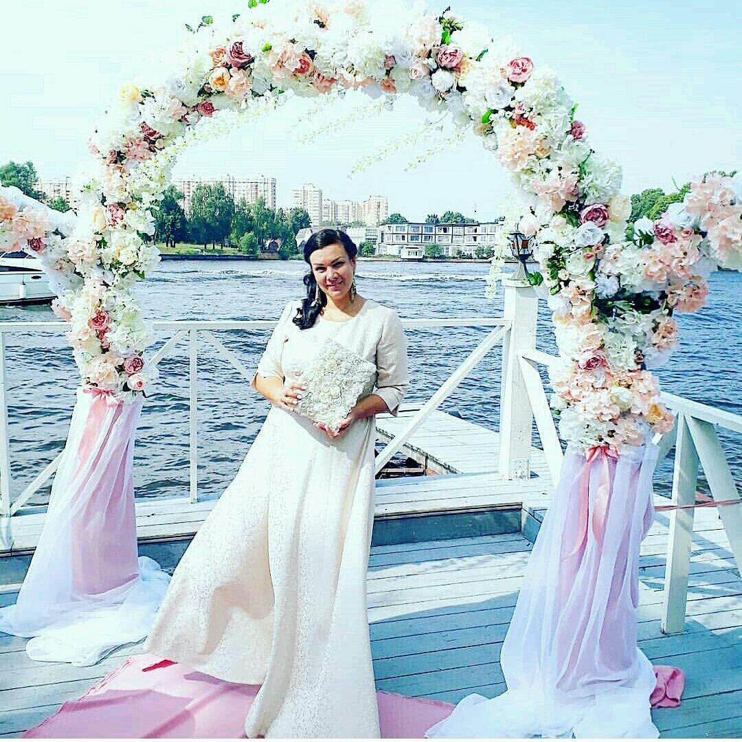 Cвадебная арка (комплект), Арка из цветов, Москва,  Фото №1
