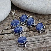 Украшения handmade. Livemaster - original item earrings with variscite