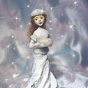 Подарки к праздникам handmade. Livemaster - original item Snow Maiden Doll. Handmade.