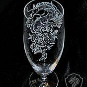 Посуда handmade. Livemaster - original item Haku. Beer glass.. Handmade.