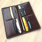 Сумки и аксессуары handmade. Livemaster - original item Genuine leather longer. Handmade.