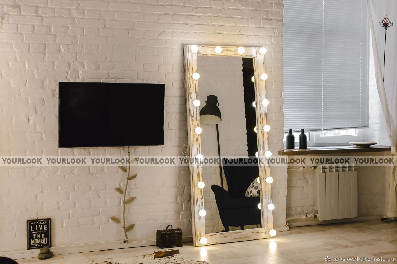 Гримерное зеркало/Зеркало лофт Washington 180x80, Зеркала, Москва, Фото №1