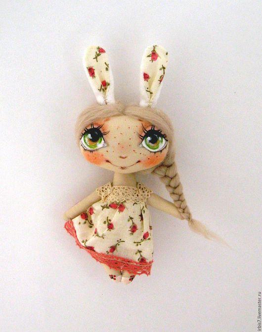 Коллекционные куклы ручной работы. Ярмарка Мастеров - ручная работа. Купить Зоя. Handmade. Белый, зая, заяц текстильный
