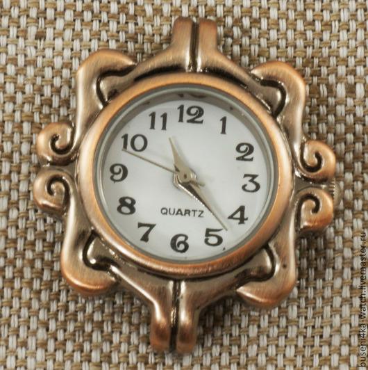 Для украшений ручной работы. Ярмарка Мастеров - ручная работа. Купить Основа для часов Завитки, античная медь (1шт). Handmade.