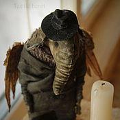 Куклы и игрушки handmade. Livemaster - original item Dark angel Elephant. Handmade.