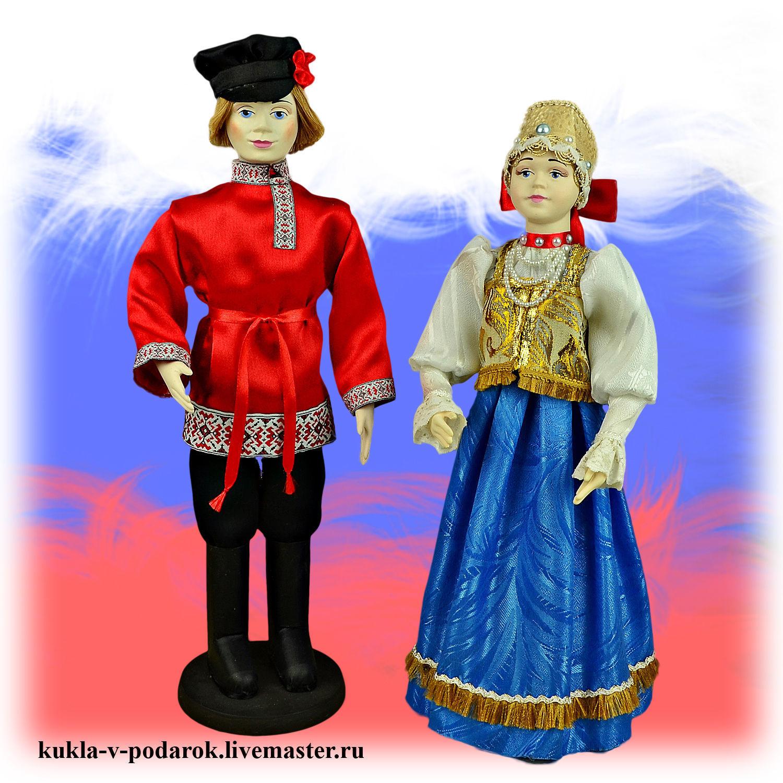 Куклы в русском национальном костюме – купить на Ярмарке ...
