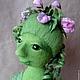 Коллекционные куклы ручной работы. Миссис Горошинка Грин...Ария... Авторская кукла в смешанной технике. ЛИЧНОЕ  ДЕЛО (lichnoedelo). Ярмарка Мастеров.