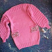 Работы для детей, handmade. Livemaster - original item Knitted dress